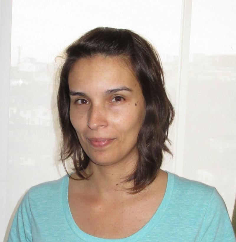 Karin Alfaro, investigadora del Instituto Milenio de Óptica MIRO.