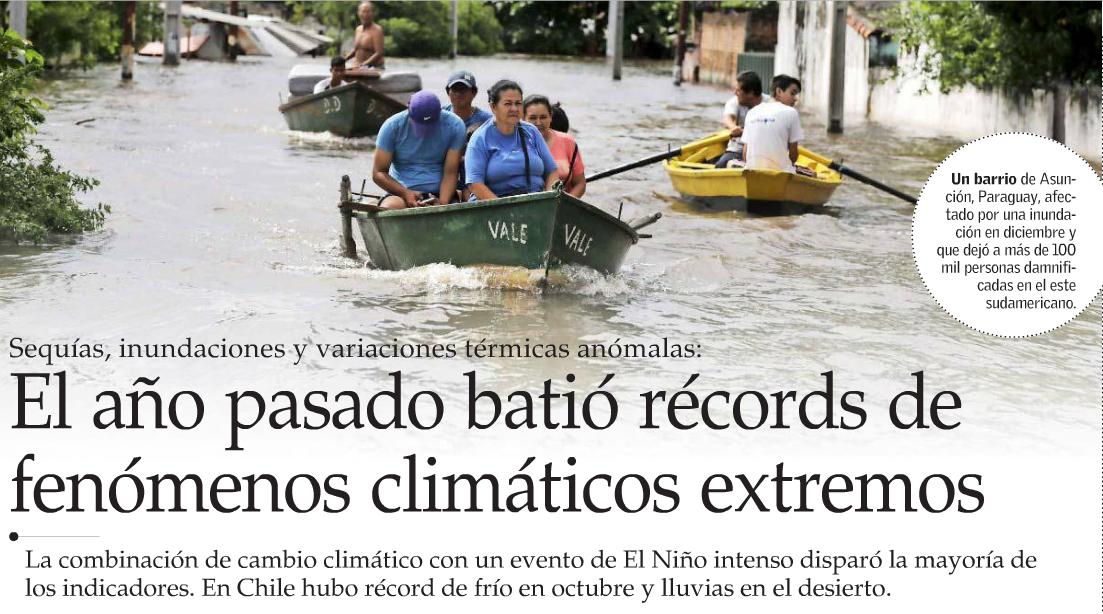 fenómenos climáticos extremos